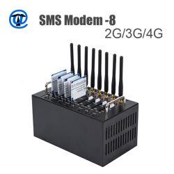 8 Granel Porta de envio de SMS modem com alta velocidade livre comercialização software SMS