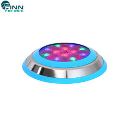 preço de fábrica de aço inoxidável piscina impermeável LED lâmpada subaquática
