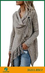 Vente chaude Cardigan Knitwear crochet bonneterie pullover à manches longues pour femmes