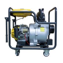 6pouce (essence) portable alimenté par une pompe centrifuge de transfert d'eau propre 192F du moteur de haute qualité certificat CE cue
