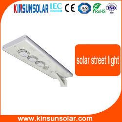 Для использования вне помещений 7m 100Вт Светодиодные солнечного освещения улиц с аккумуляторной батареи