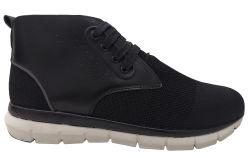 2020 Hommes respirant des chaussures de randonnée en daim Flyknit + Tissu dessus de la mode des chaussures de sport hommes Sneakers Hommes Chaussures de sport