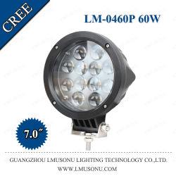 """Iluminación automática"""" 7.0 12V 60W de luz LED de trabajo Slim 12 LED de ATV/vehículos de servicio pesado"""
