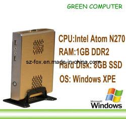 2013 Nieuwste X86 Mini MiniPC van de Cliënt van de Computer Dunne met RAM 8GB SSD van het Atoom N270 cpu van Intel van Vensters de XPE Ingebedde 1GB