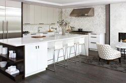 カスタマイズされた国様式の個々の白いラッカー現代食器棚