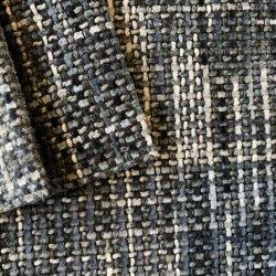 La teinture de fils de haute qualité Rembourrage doux tissus tissés décoration pour les meubles/canapé