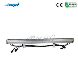 18X3w RGB 3в1 Водонепроницаемый светодиодный индикатор для использования вне помещений на стену на этапе реализации проектов лампы освещения
