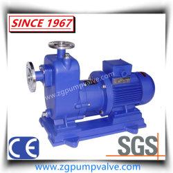 Sealless Non-Leak métal magnétique horizontal de la conduite de la pompe centrifuge Self-Priming chimique