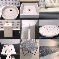 벽, 지면, 격판덮개, 탁상용, 기술을%s 주문을 받아서 만들어진 테라조 인공적인 돌