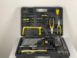 Ручные инструменты оборудование 84ПК домашних ящик для инструмента, комбинированный инструмент