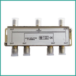Splitter CATV a 6 vie senza Power Pass
