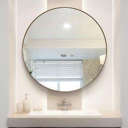 Отель туалетный столик сделать из алюминиевого сплава матовая щетки наружного зеркала заднего вида в рамке для ванной комнаты