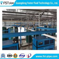 Fstpipe tubo de aire de aluminio y el montaje de la fábrica textil de fácil instalación del compresor de aire