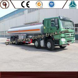 8*4 camion citerne à carburant du réservoir d'huile véhicule 30t HOWO camion-citerne à carburant