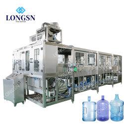 5 gallon d'eau automatique Machine de remplissage de bouteilles PET Machine d'embouteillage de l'eau