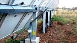 태양열 발전소 마운팅 스터처 자동 풀로우 더 선