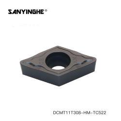 Dcmt11t308 de giro de torno de carburo de insertar la herramienta de corte para el procesamiento general