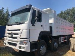 중고차 시노트럭 HOWO는 371HP 375HP HOWO 10 휠을 사용했습니다 12 Tires Dump Truck Tipper Truck 8X4 6X4 Good 아프리카 지역