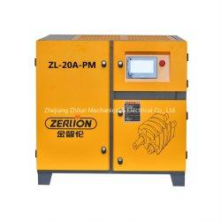 15kw/20HP vis à aimant permanent de l'air avec une fréquence variable de démarrage du compresseur