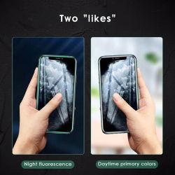シリコーンの端の保護フィルムの明るく明確な携帯電話スクリーンの保護装置を反スクラッチしなさい