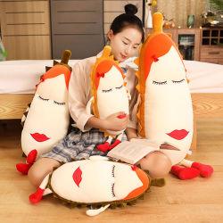 2020 in Cute suave abrazo Durian almohada hacer extraño juguete de peluche almohada largo sofá almohada