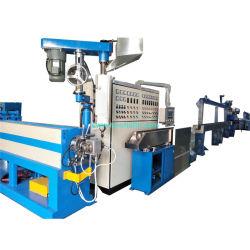 De PVC de alta velocidade/PE/PP máquina de extrusão de fios e cabos