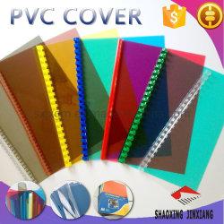 사무용품 A4 투명한 색깔 다른 간격 PVC 바인딩 덮개