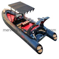 5.8m 어선, 경식 팽창식 보트, Rib580A, 8피트 사람 PVC 보트