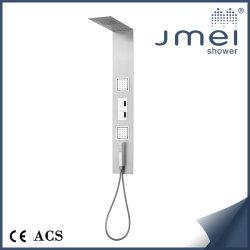 Panel de ducha de acero inoxidable (JM-SS121) con un diseño clásico para el mercado europeo