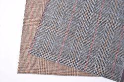 18118 Double-Faced tejido de lana tejido de lana para abrigo y ropa de abrigo prendas de vestir de tejido textil tejido
