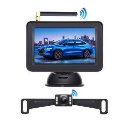 Estacionamento de marcha do carro da placa de licença automática Retrovisor Câmera para visão traseira