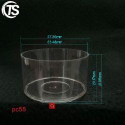 Coupelle en plastique, bougie tasse tasse, Tealight