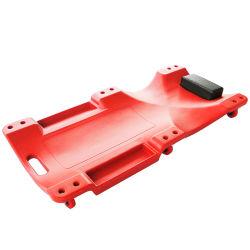أداة إنشاء عجلات بألواح بلاستيكية بحجم 40 بوصة ذات 6 عجلات عربة إصلاح سيارات عربة ميكانيكيات زحاف كبير