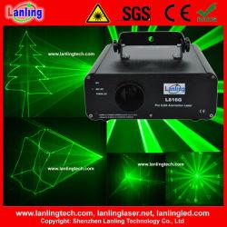 100 Мвт зеленый Ilda DMX лазерные DJ Disco этапе лампа