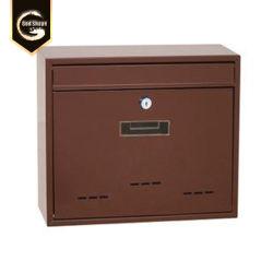 Parcelle en acier inoxydable aluminium Letterbox boîtes aux lettres boîte aux lettres