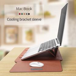 Estojo para notebook multifuncional portátil à prova de manga com tapete de rato