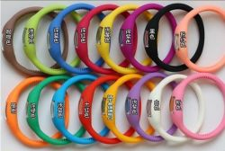 L'anion de silicone de haute qualité montre avec coloré