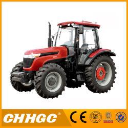 Ферма Disel трактор 120HP четыре колеса трактора фермы рабочего оборудования