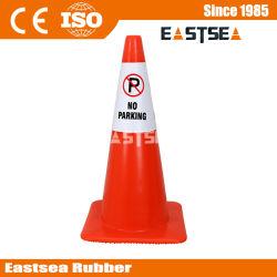 Estacionamento plástico leve, sem estacionamento piso molhado sinal de aviso