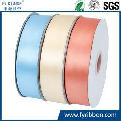 Großhandelsqualitäts-Normallack-Satin-Gewebe-Textilfarbband