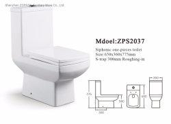 جودة جيدة الصحة Ware قطعة واحدة S-Trap الهند السوق سكوير سعر خزانة المرحاض بالمياه