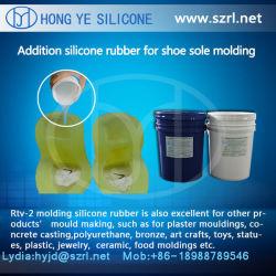 Caoutchouc de silicone RTV-2 Liquide pour semelle PU L'usine de moule