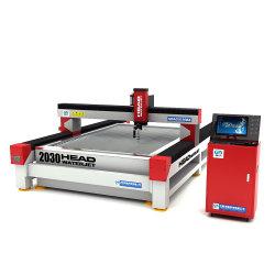 Galss de corte CNC máquina de chorro de agua para la venta el precio de corte chorro de agua