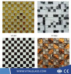 Glas/Stein/Marmor/Metall/Laterne/keramische Mosaik-Fliese für Badezimmer-/Swimmingpool-Fußboden-Mosaik-Fliesen
