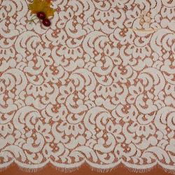 Химического белый codecs французской кружевной вышивкой хлопок кружевной ткани