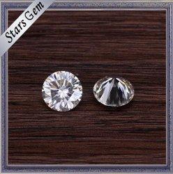Excelente Brillinat Cortar bem polidas Pedras Moissanite soltos Branco clara para jóias