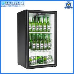 단 하나 유리제 문 포도주 맥주 냉각기 소형 냉장고