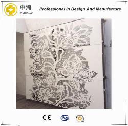 لوحة الحائط التصميم الفني لوحة التصميم المعدني مظهر لوحة خط سكة حديد قصير الجدار الخارجي التغليف