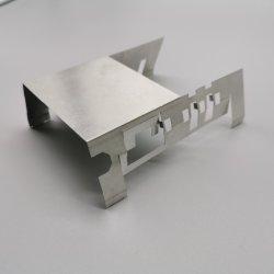 ステンレス製の鉄は90度の角の斜めの棚ブラケットに電流を通した