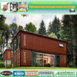 현대적인 컨테이너 하우스/모듈식 주거/조립식 모바일 홈의 간단한 조립